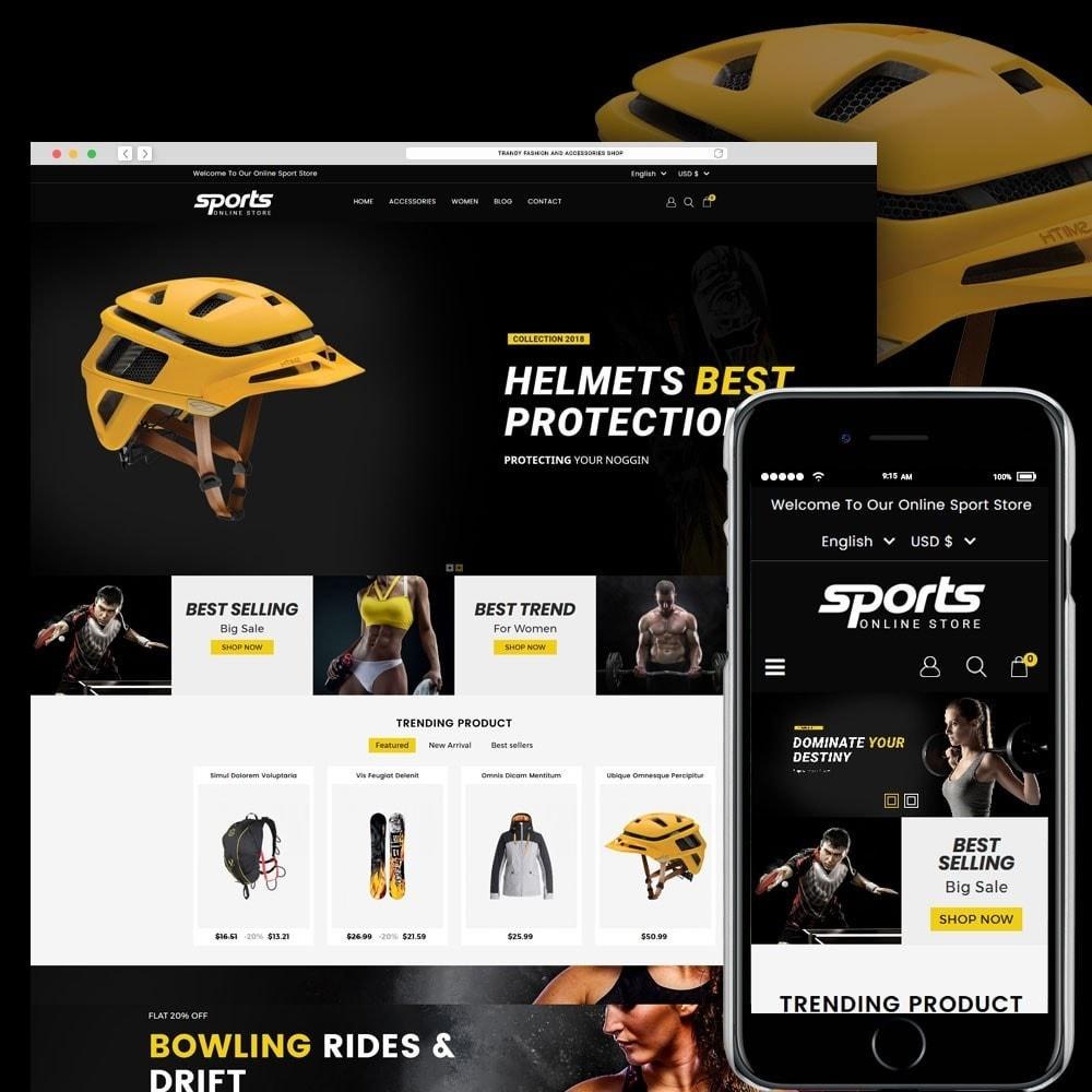 theme - Sport, Loisirs & Voyage - Sports Store - 1