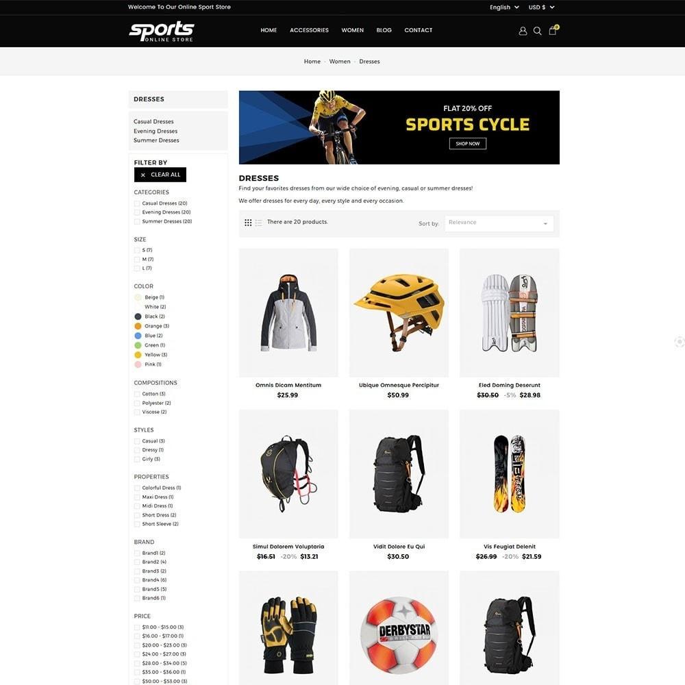 theme - Sport, Rozrywka & Podróże - Sports Store - 4