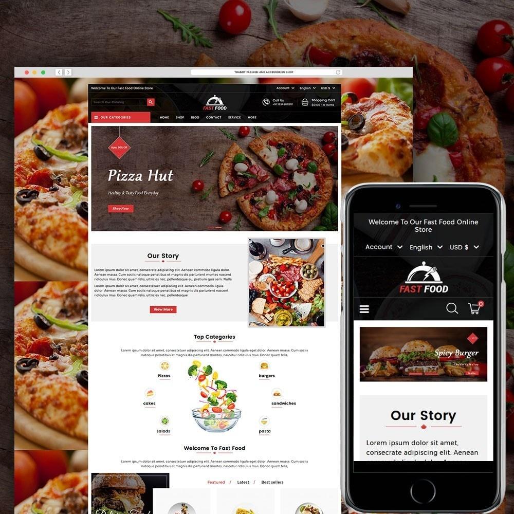 theme - Gastronomía y Restauración - Fast Food Store - 1