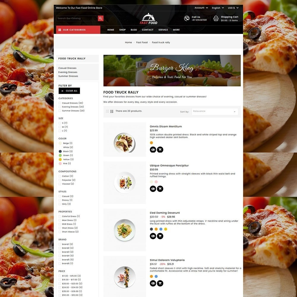 theme - Eten & Restaurant - Fast Food Store - 5