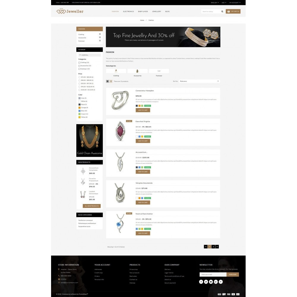 theme - Sieraden & Accessoires - Jeweller Store - 4