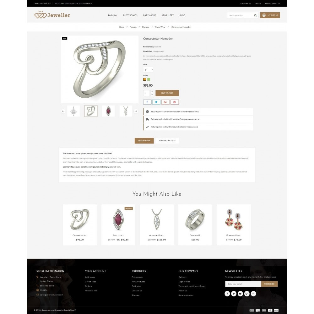 theme - Sieraden & Accessoires - Jeweller Store - 5