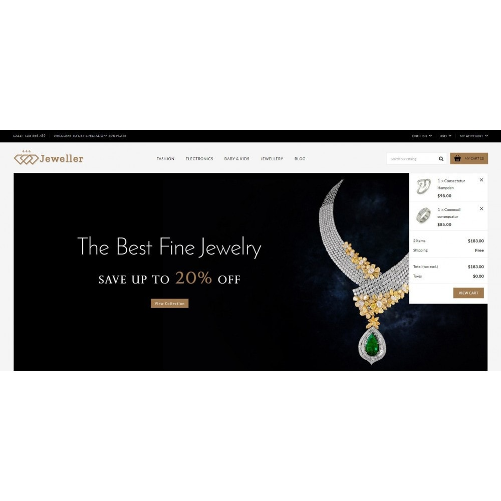 theme - Jewelry & Accessories - Jeweller Store - 8