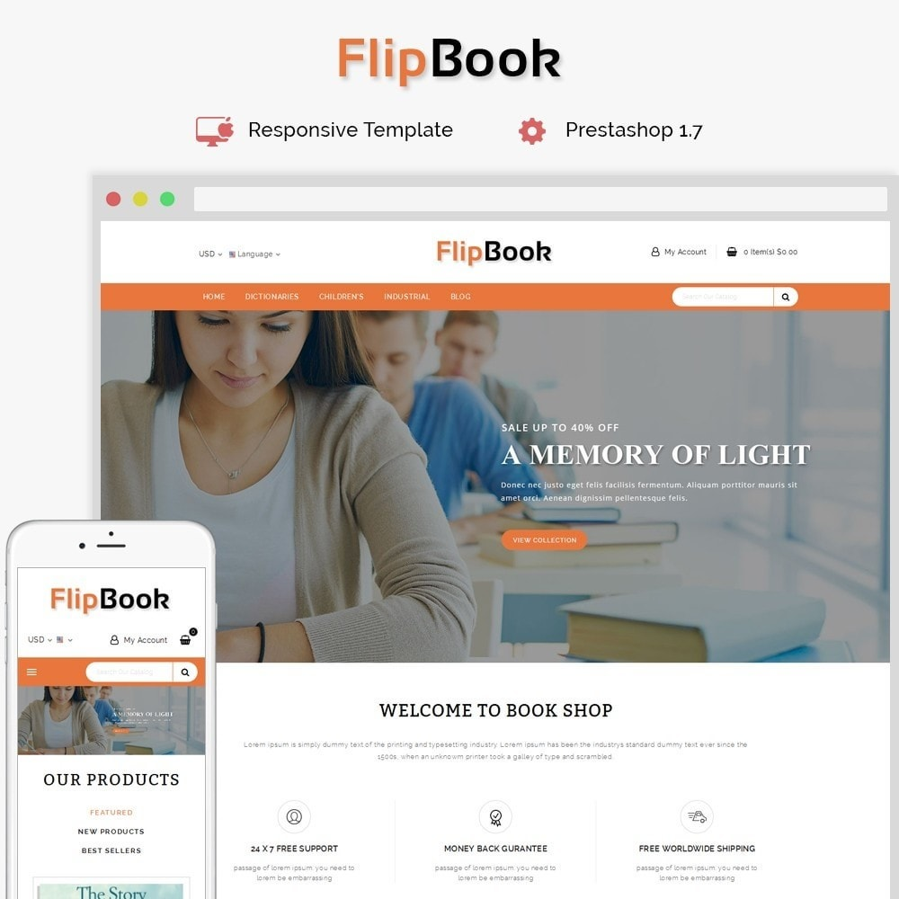 FlipBook Book Store