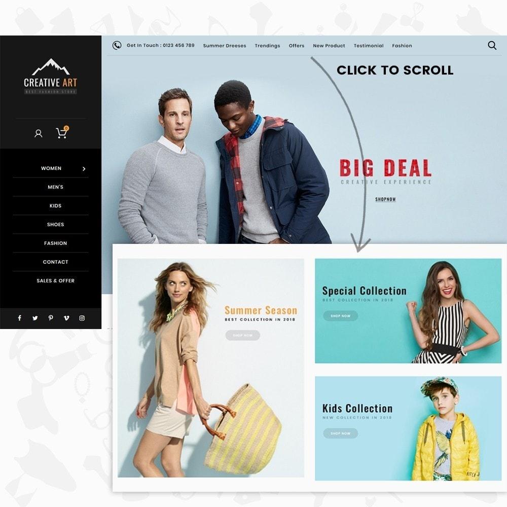 Creative Art - The Fashion Store