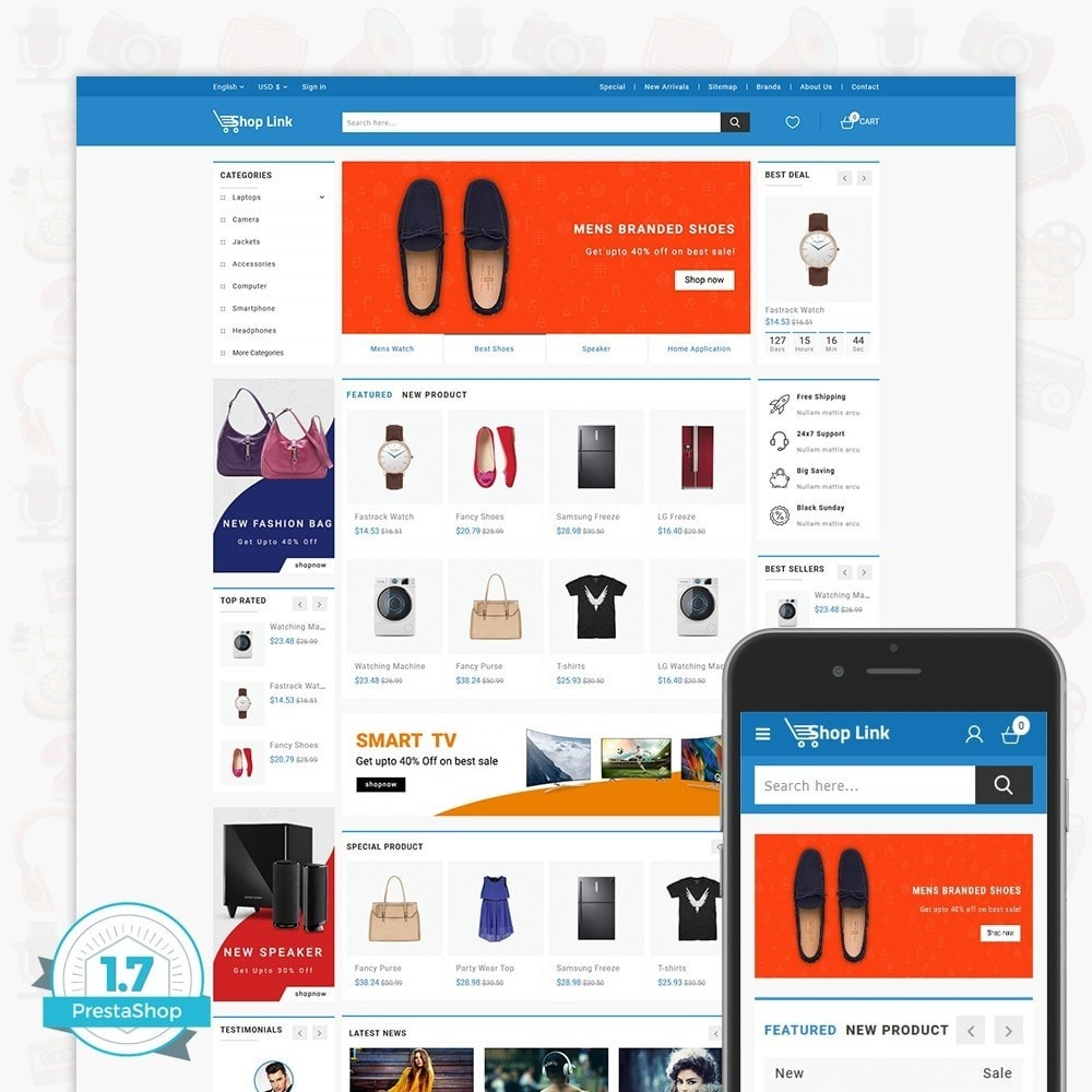 theme - Elettronica & High Tech - ShopLink - The Electronics Store - 1