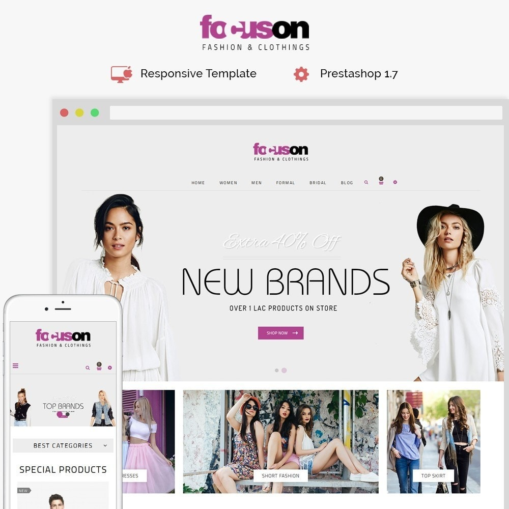 theme - Fashion & Shoes - Focuson Fashion Store - 1