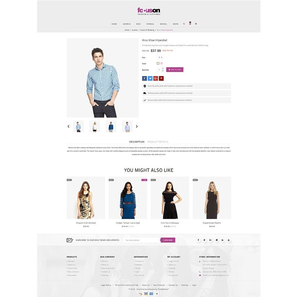 theme - Mode & Chaussures - Focuson Fashion Store - 5