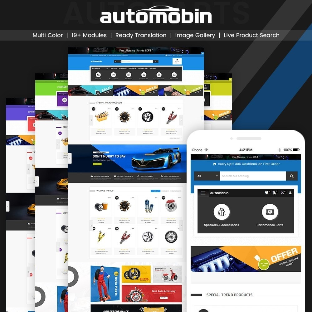 Automobin – Autoparts and Motor Super Store