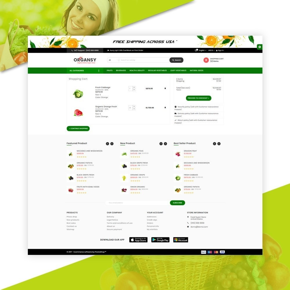 theme - Продовольствие и рестораны - Organsy – Grocery/Food/Gourmet/Drinks Super Store - 5