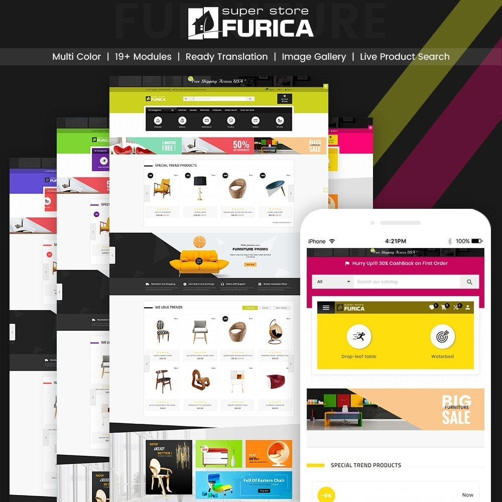 Furica – Furniture and Home Decor Super Store