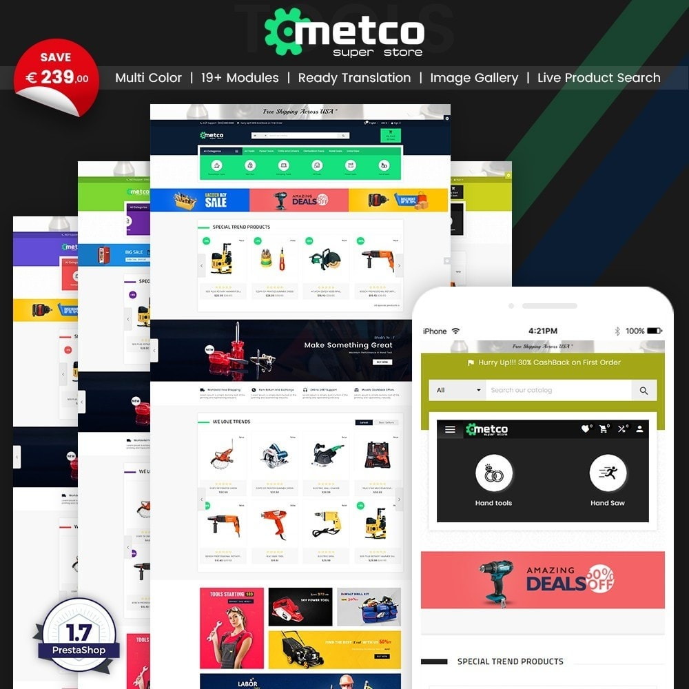 Metco – Tools and Machine Super Store