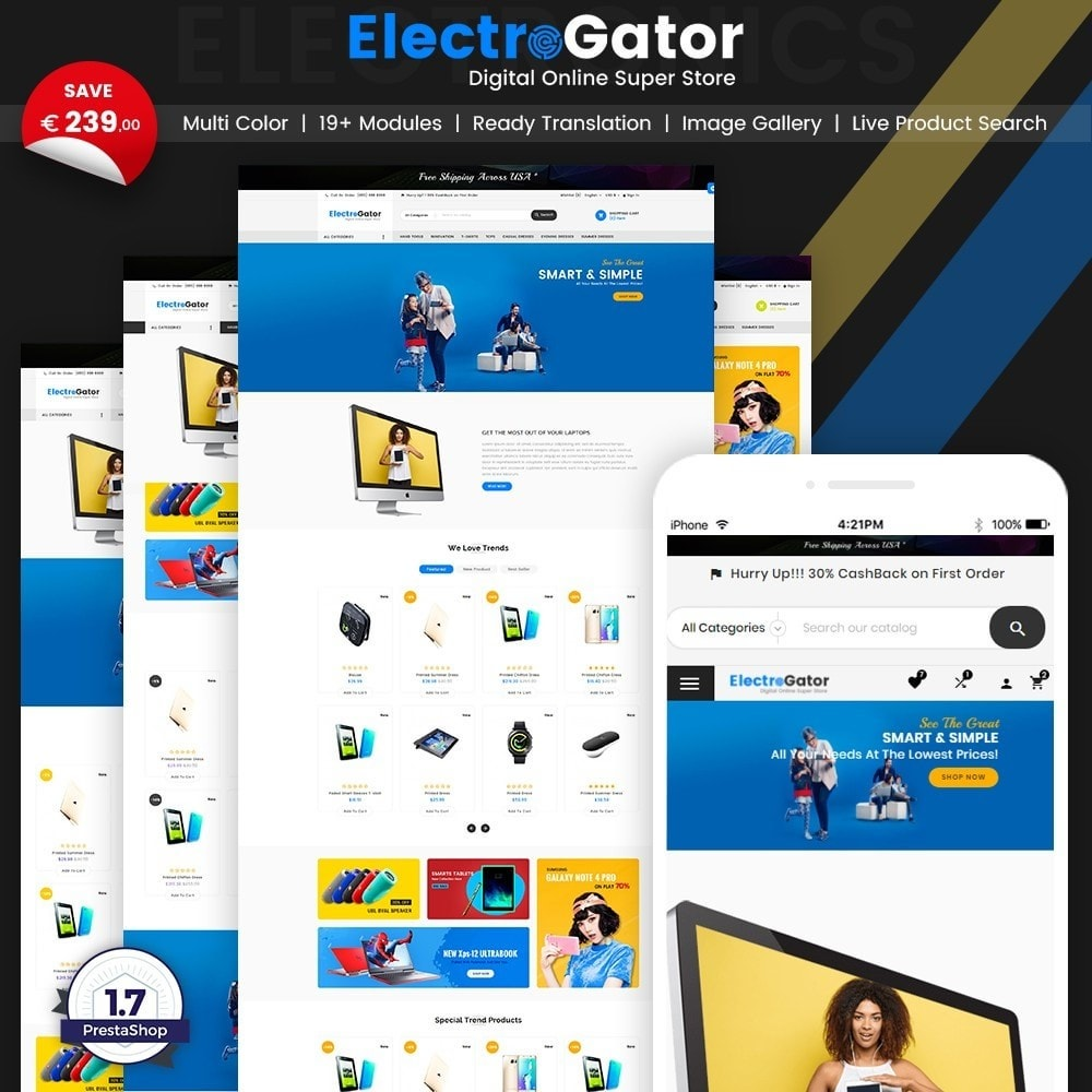 ElectroGator – Electronic & Digital Super Store v2