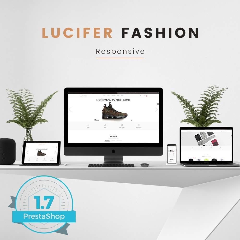 Lucifer Fashion - Prestashop 1.7