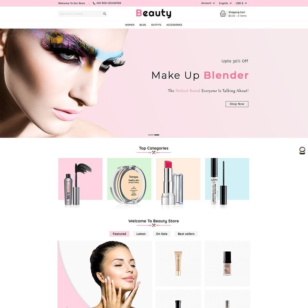 Beauty Cosmetic Shop