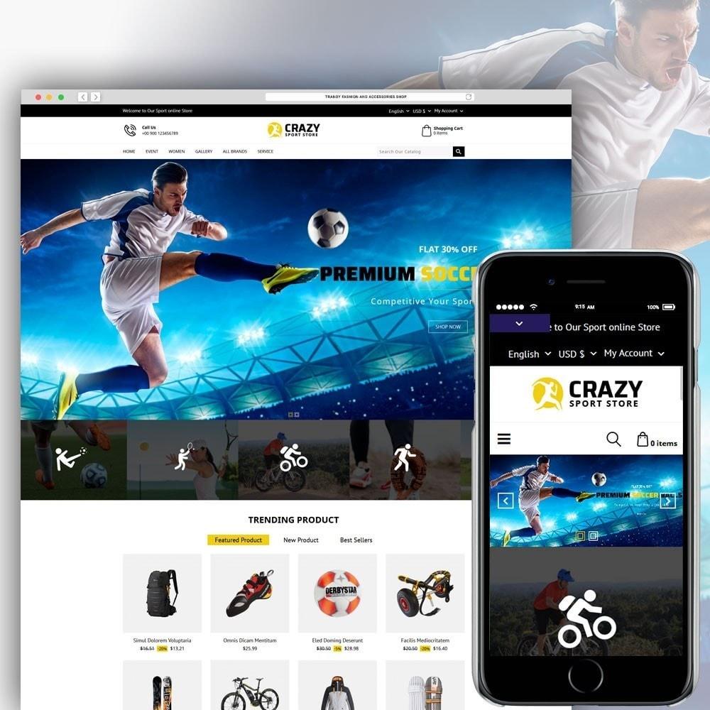 theme - Deportes, Actividades y Viajes - Crazy Sports Store - 2
