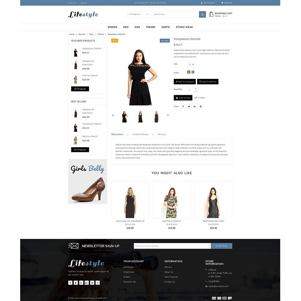 theme - Mode & Chaussures - Lifestyle Store - 5