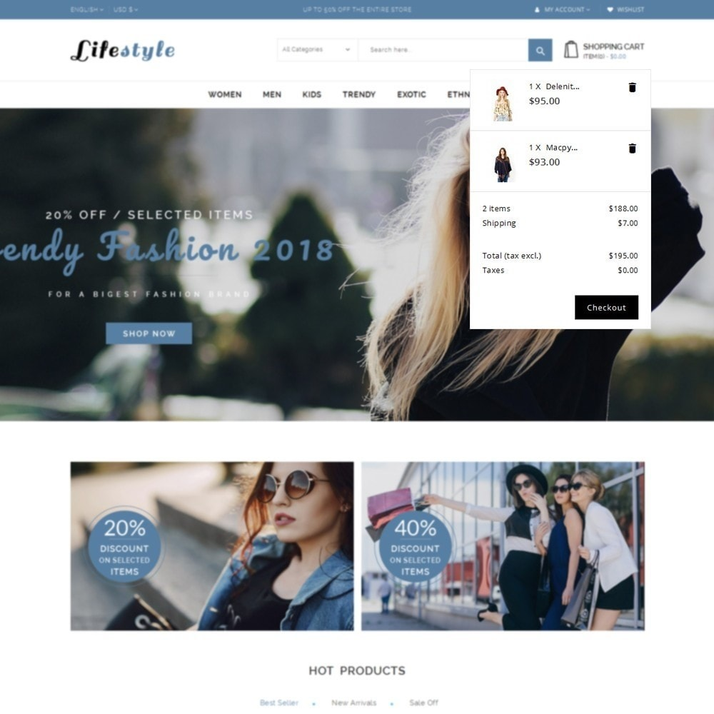 theme - Mode & Chaussures - Lifestyle Store - 8