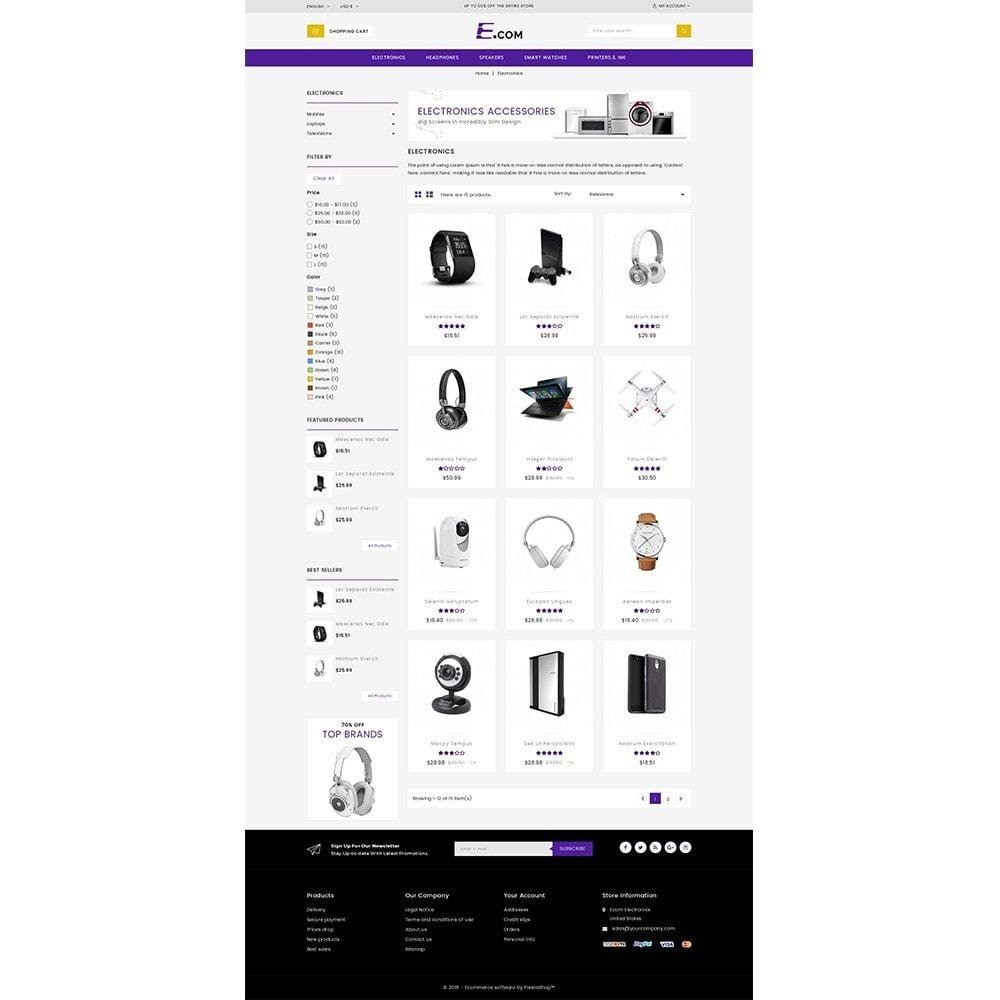 E-com Electronics Store