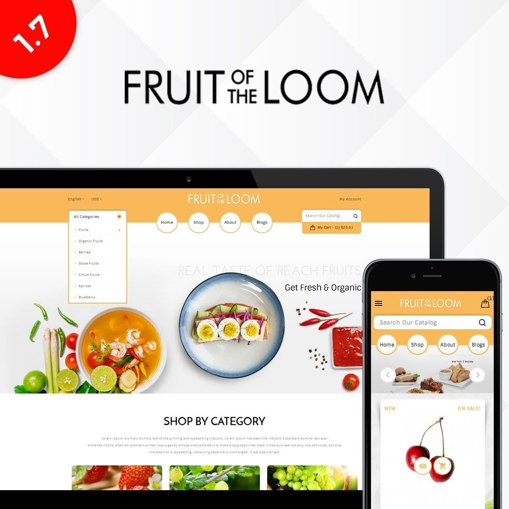theme - Food & Restaurant - Fruits Store - 1