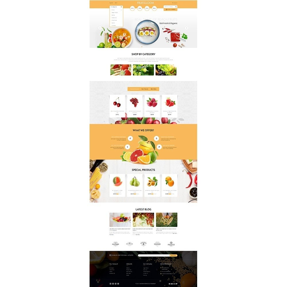 theme - Food & Restaurant - Fruits Store - 2
