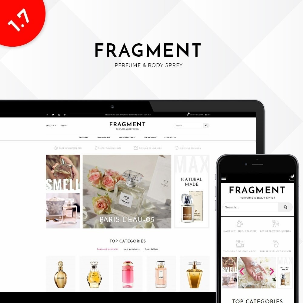 Fragment Perfume Store
