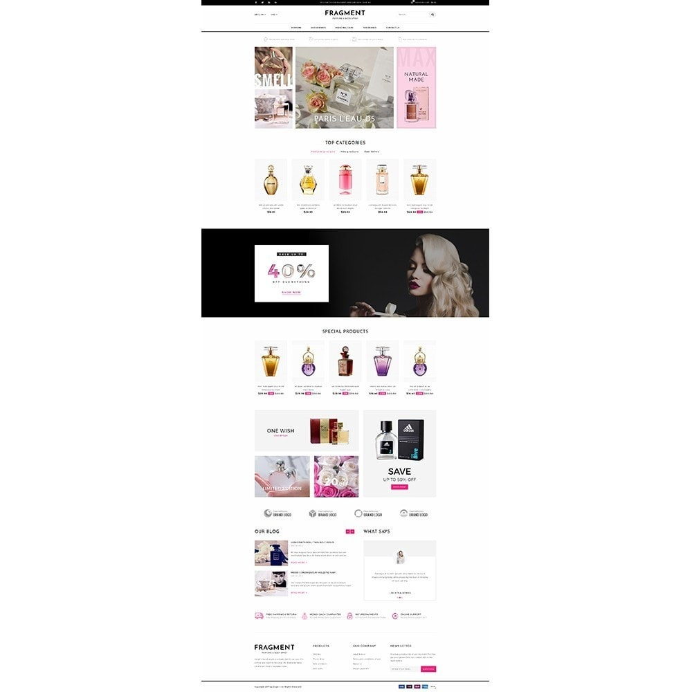 theme - Salud y Belleza - Fragment Perfume Store - 2