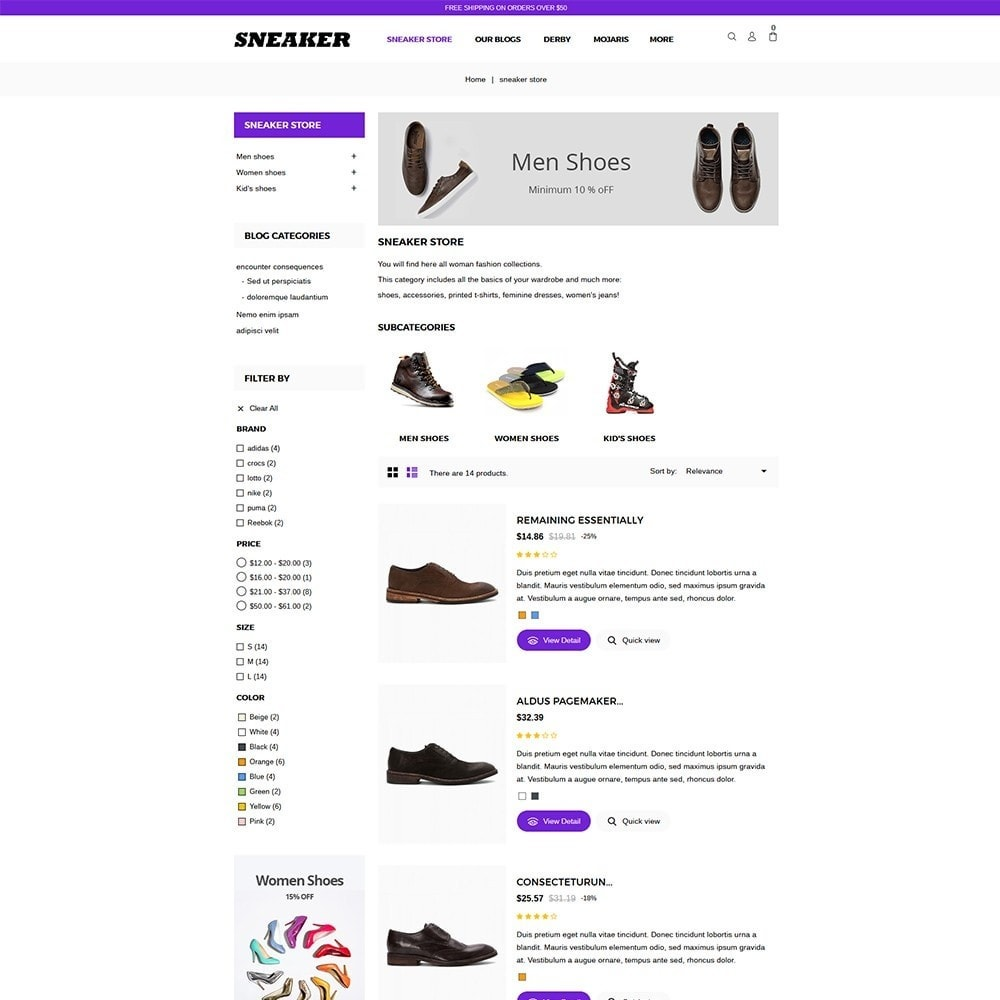 theme - Mode & Schoenen - Sneaker Shoe Store - 4