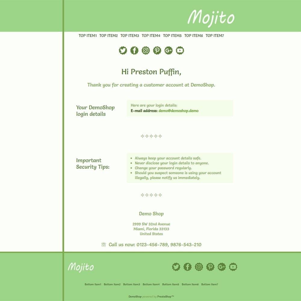 Mojito - Email templates