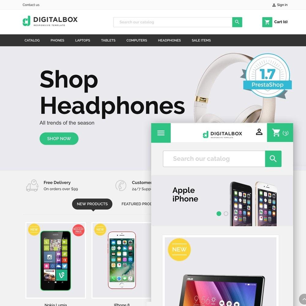 theme - Elektronika & High Tech - Digitalbox Electronics Store - 1