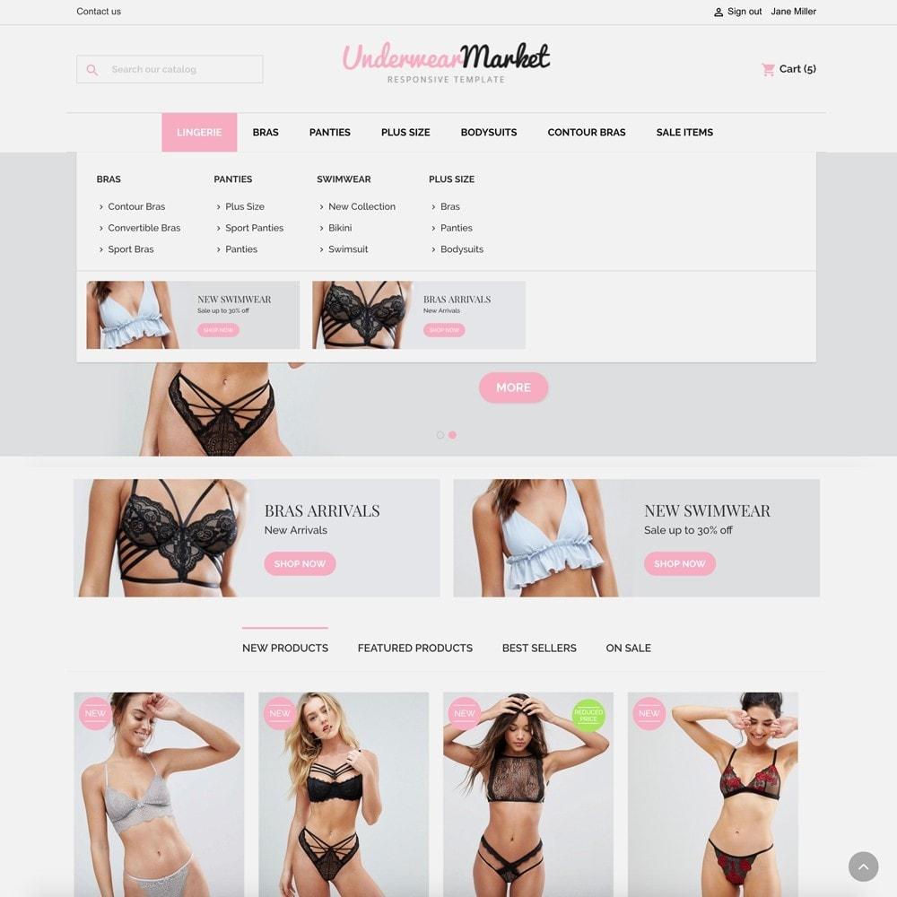 theme - Lingerie & Adultos - Underwear Market - 3