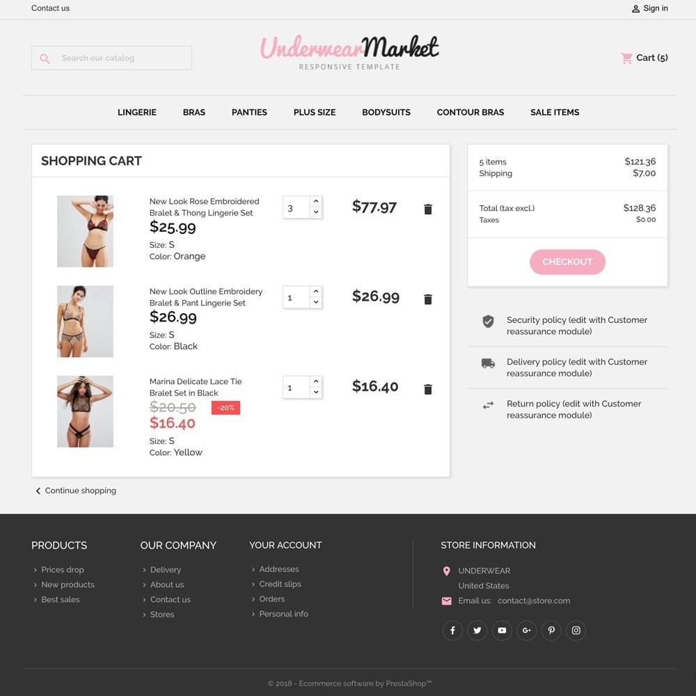 theme - Lingerie & Adultos - Underwear Market - 6