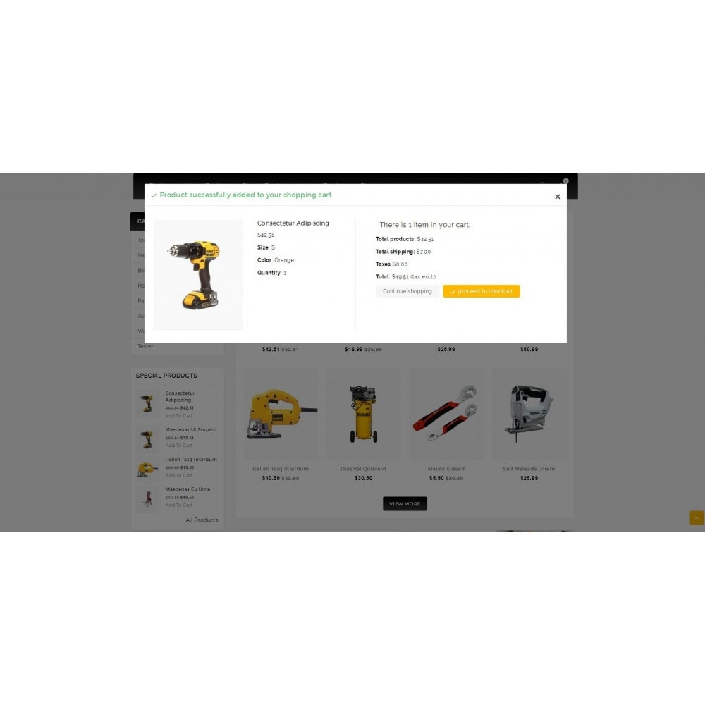 theme - Elektronica & High Tech - Outils - Tools Shop - 6