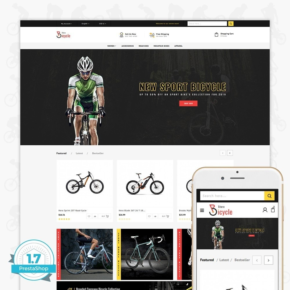Bicycle Sports Store