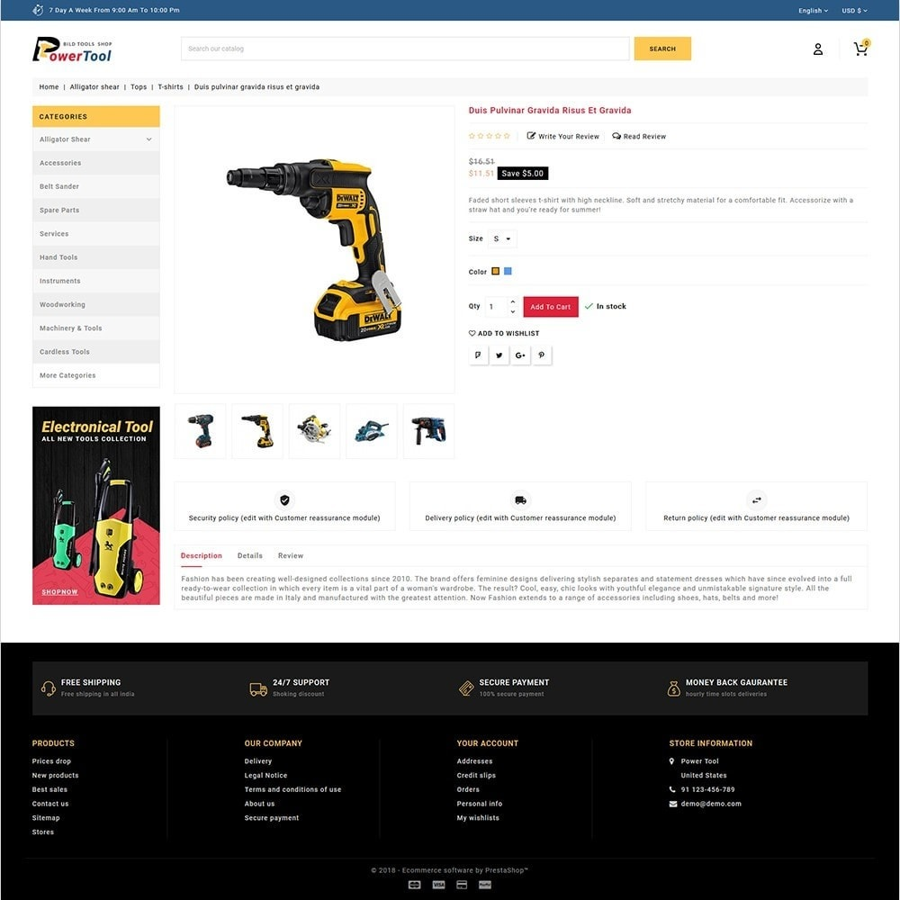 theme - Samochody - Power tools - Special Power Tools - 5
