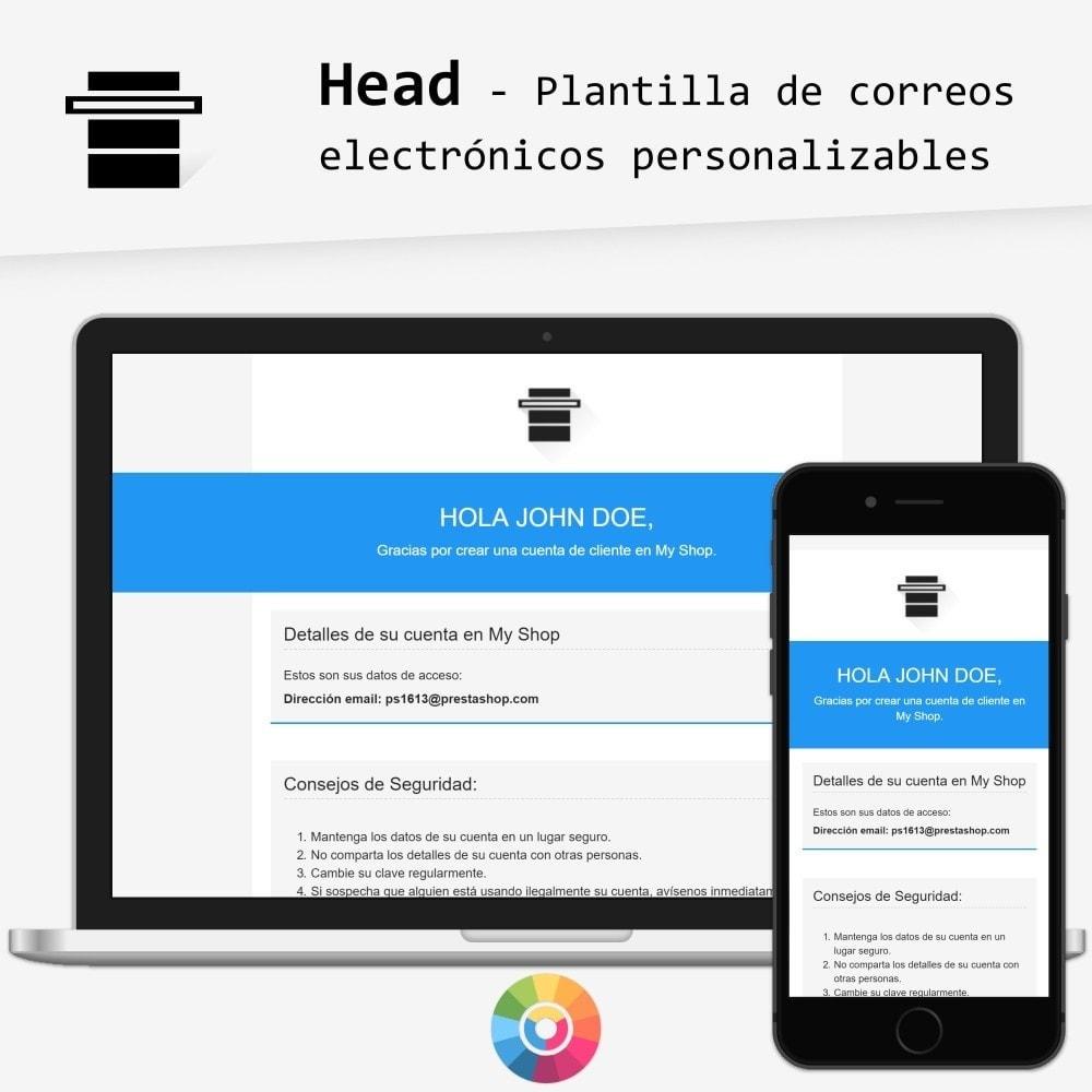 Head - Plantilla de correos electrónicos