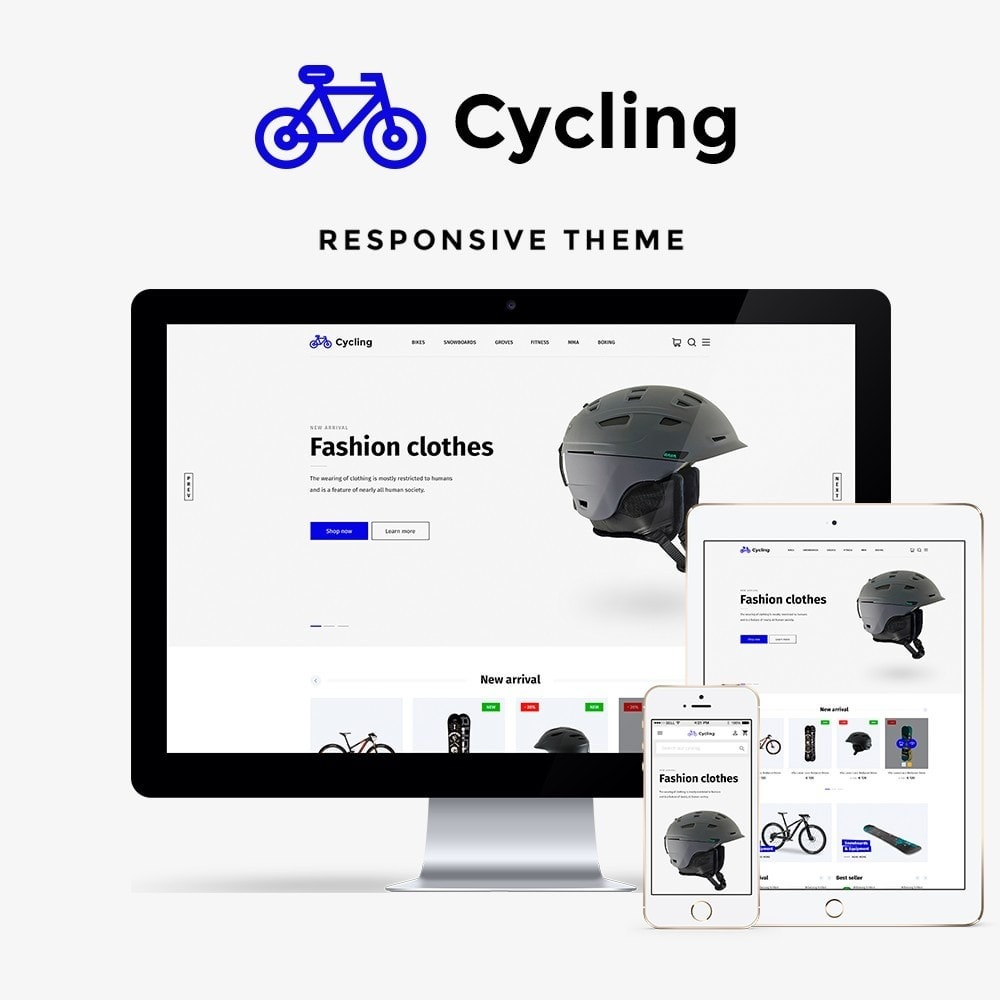 theme - Sport, Loisirs & Voyage - Cycling - 1