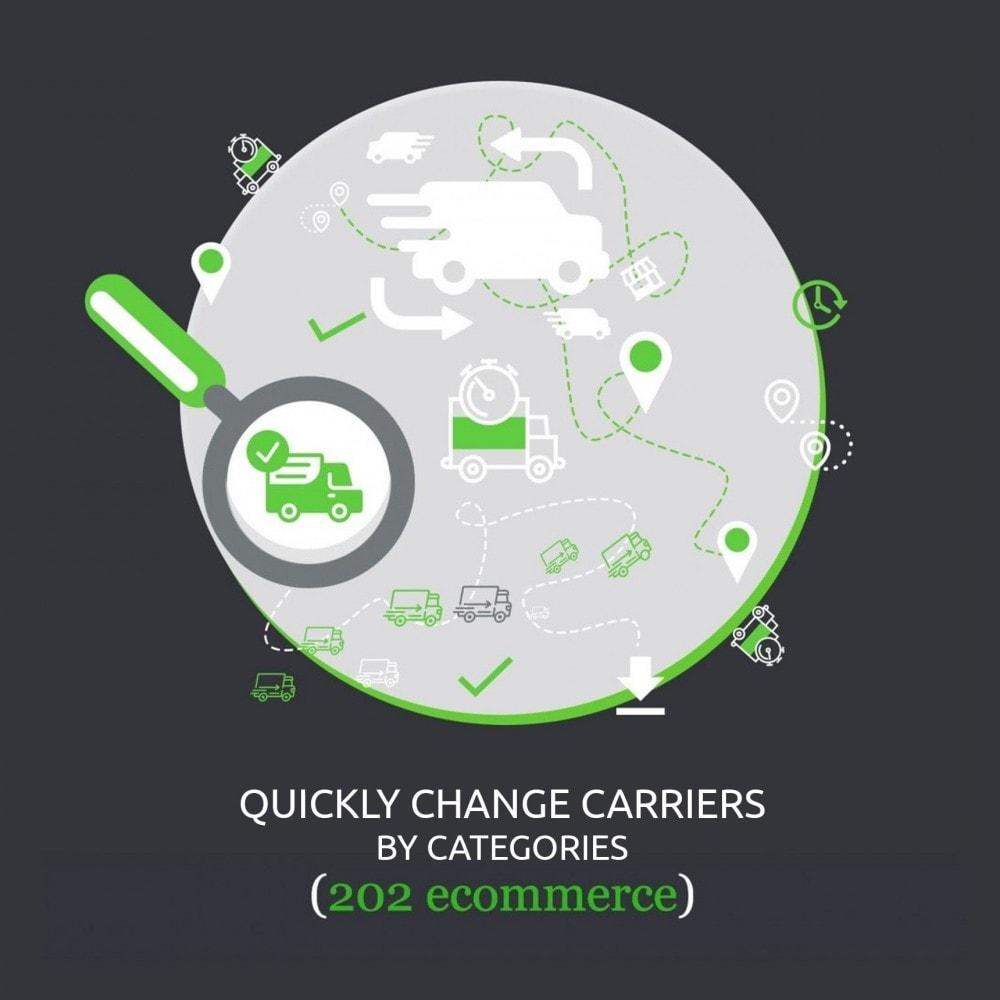 module - Modifica rapida & di massa - Quickly change carriers by categories: PS 1.5 - 1.7 - 1