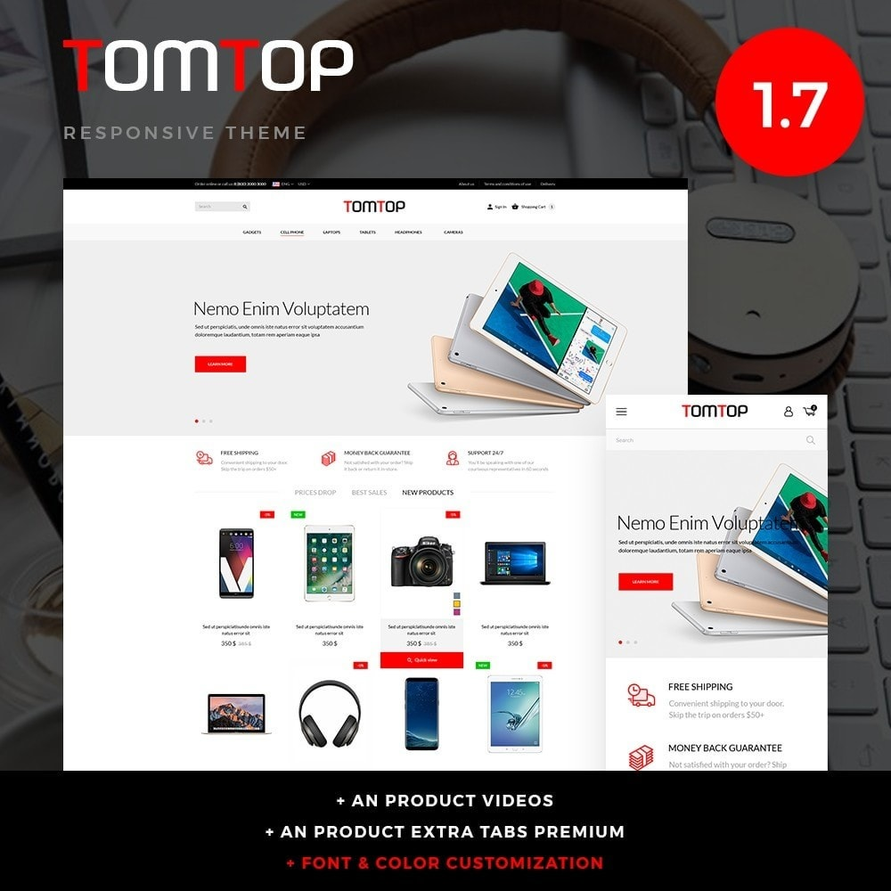 Tomtop - High-tech Shop