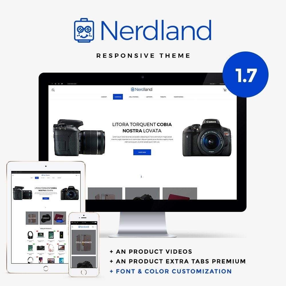 Nerdland - High-tech Shop