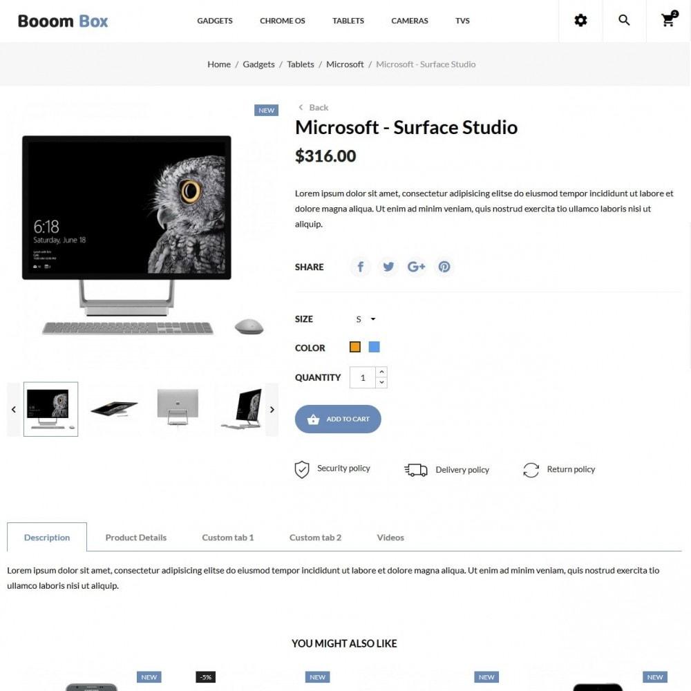 theme - Electrónica e High Tech - Booom box - High-tech Shop - 6