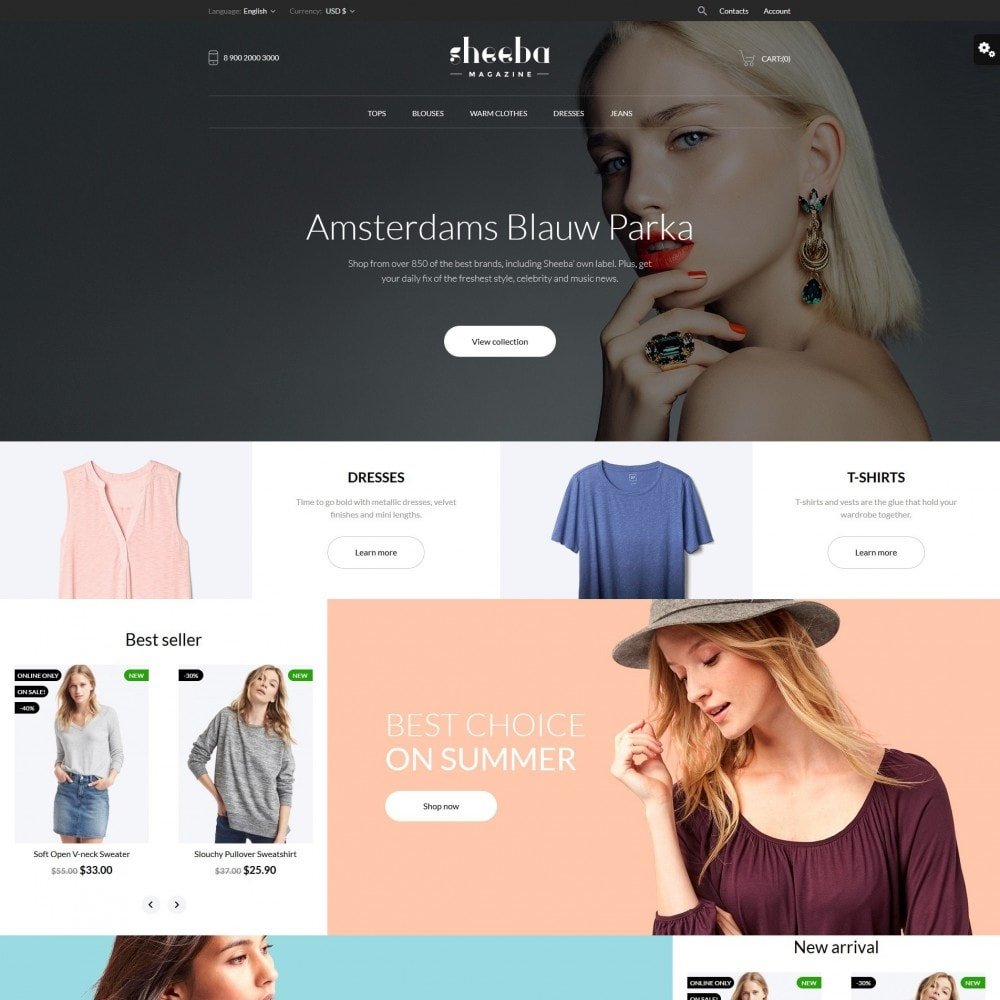 theme - Mode & Chaussures - Sheeba Fashion Store - 2