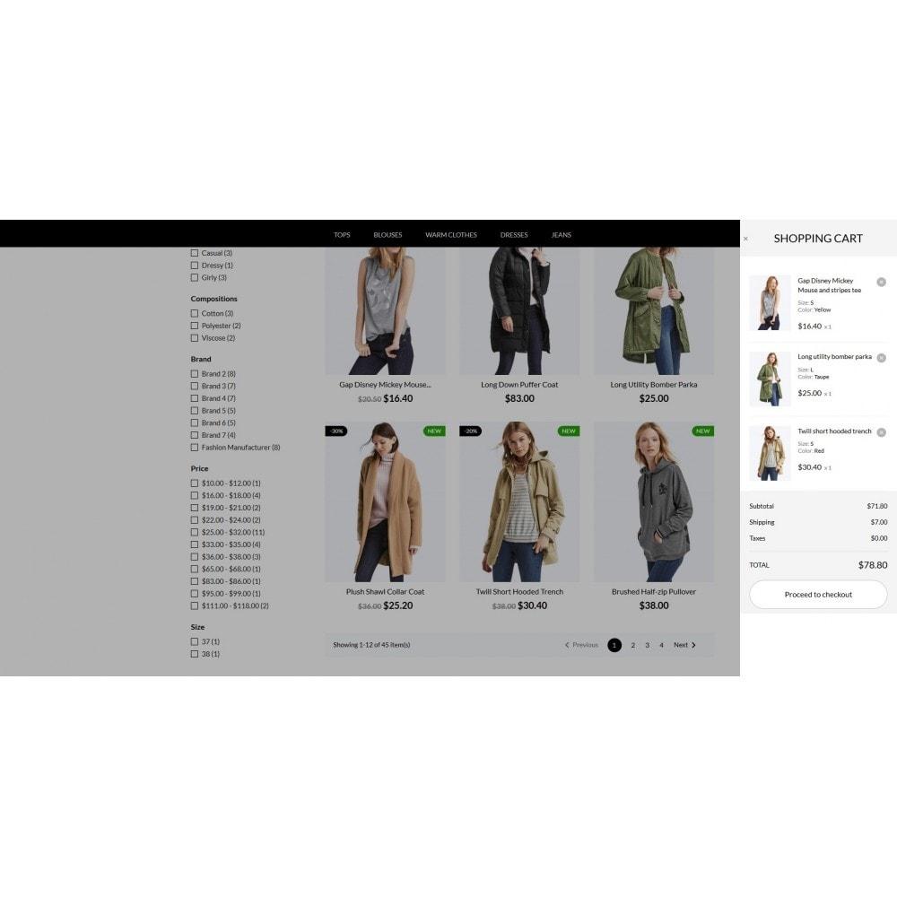 theme - Mode & Chaussures - Sheeba Fashion Store - 3