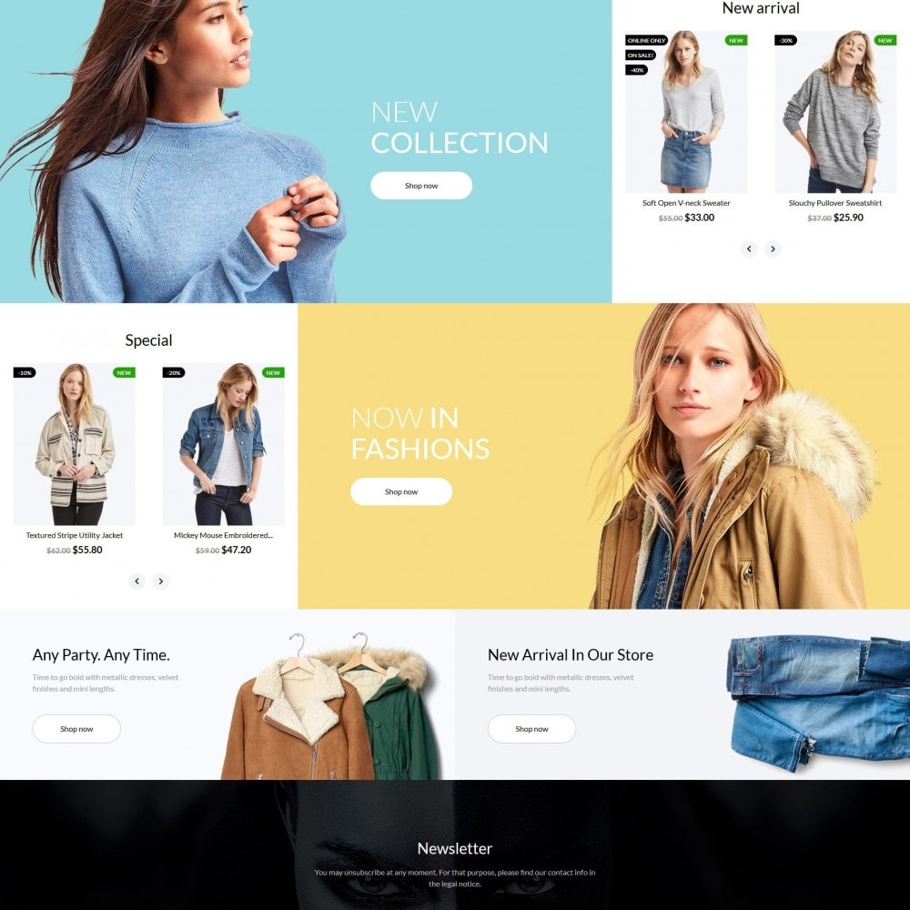 theme - Mode & Chaussures - Sheeba Fashion Store - 4