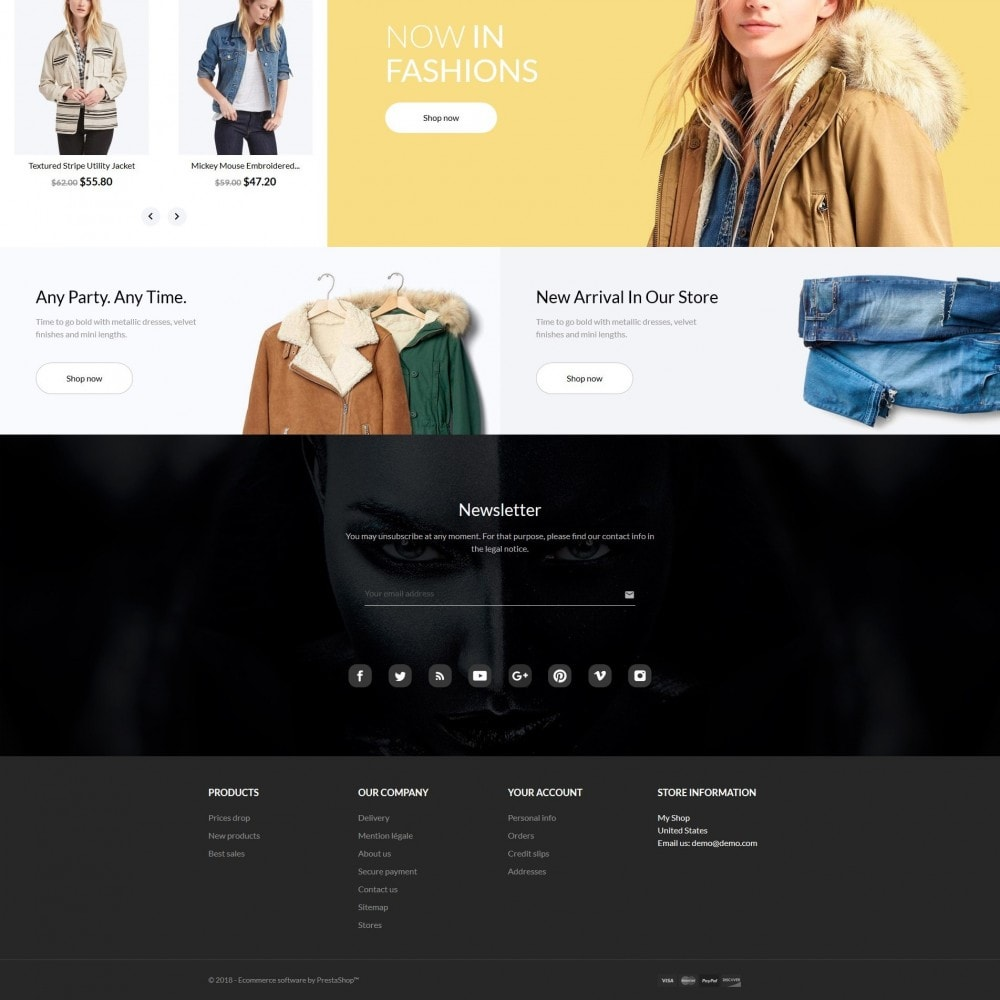 theme - Mode & Chaussures - Sheeba Fashion Store - 5