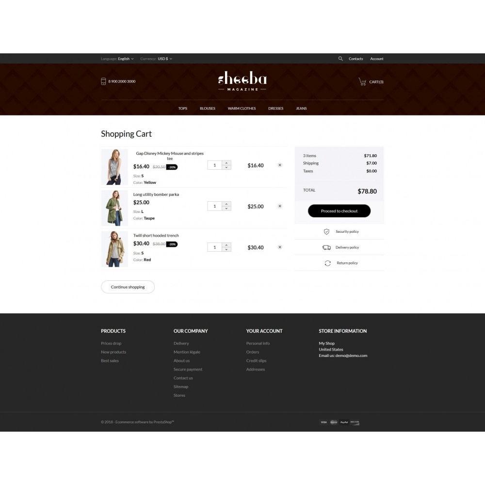 theme - Mode & Chaussures - Sheeba Fashion Store - 10