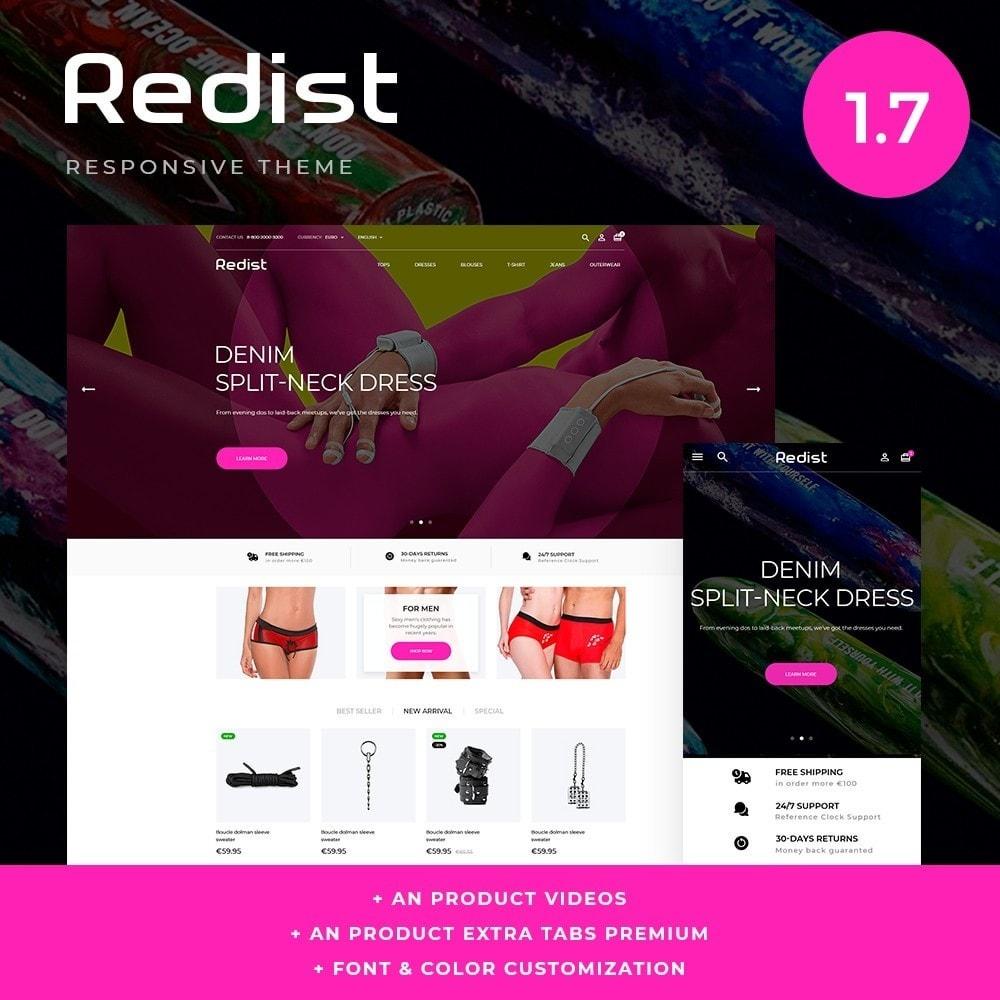 theme - Нижнее белье и товары для взрослых - Redist - Sex Shop - 1