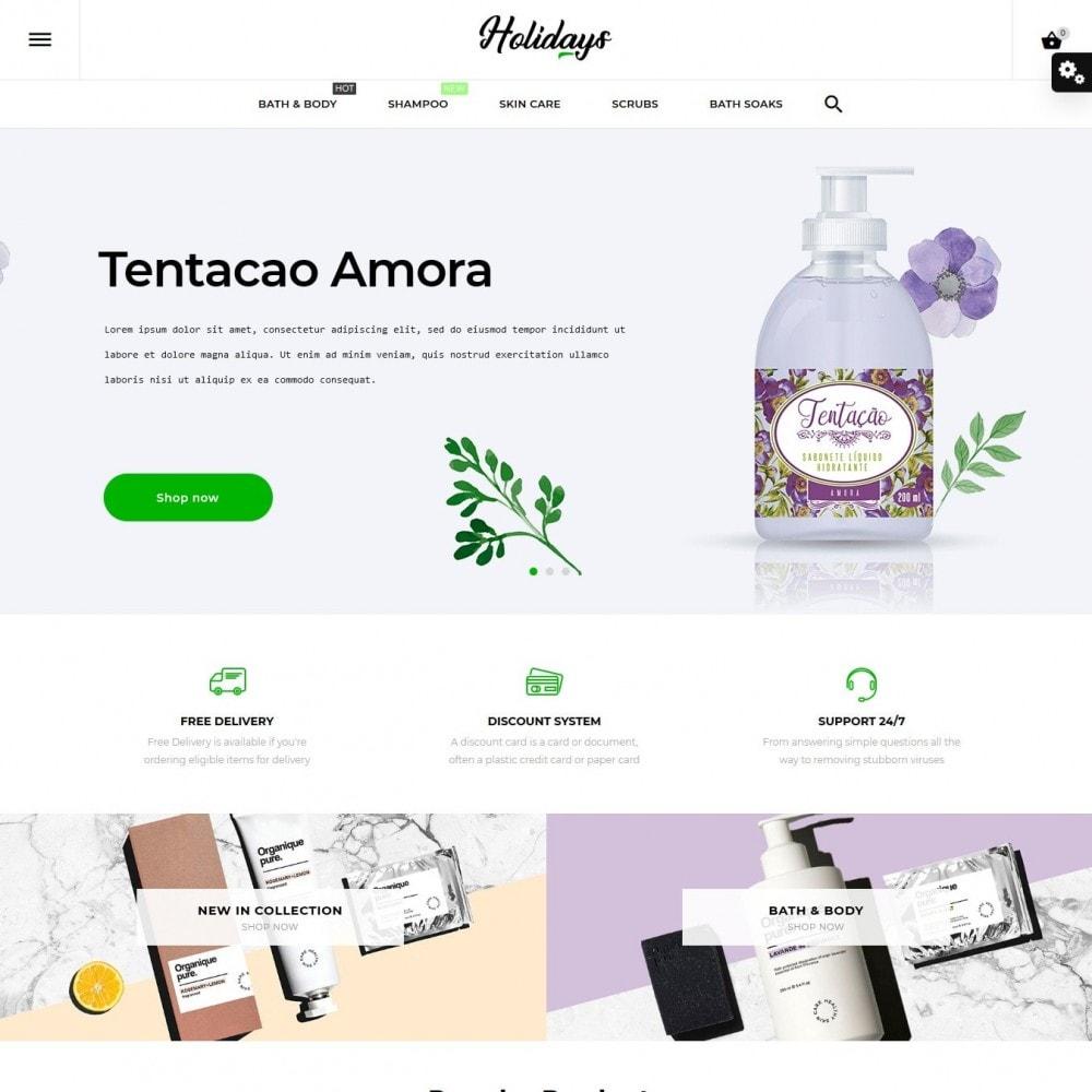 theme - Salud y Belleza - Holidays Cosmetics - 2
