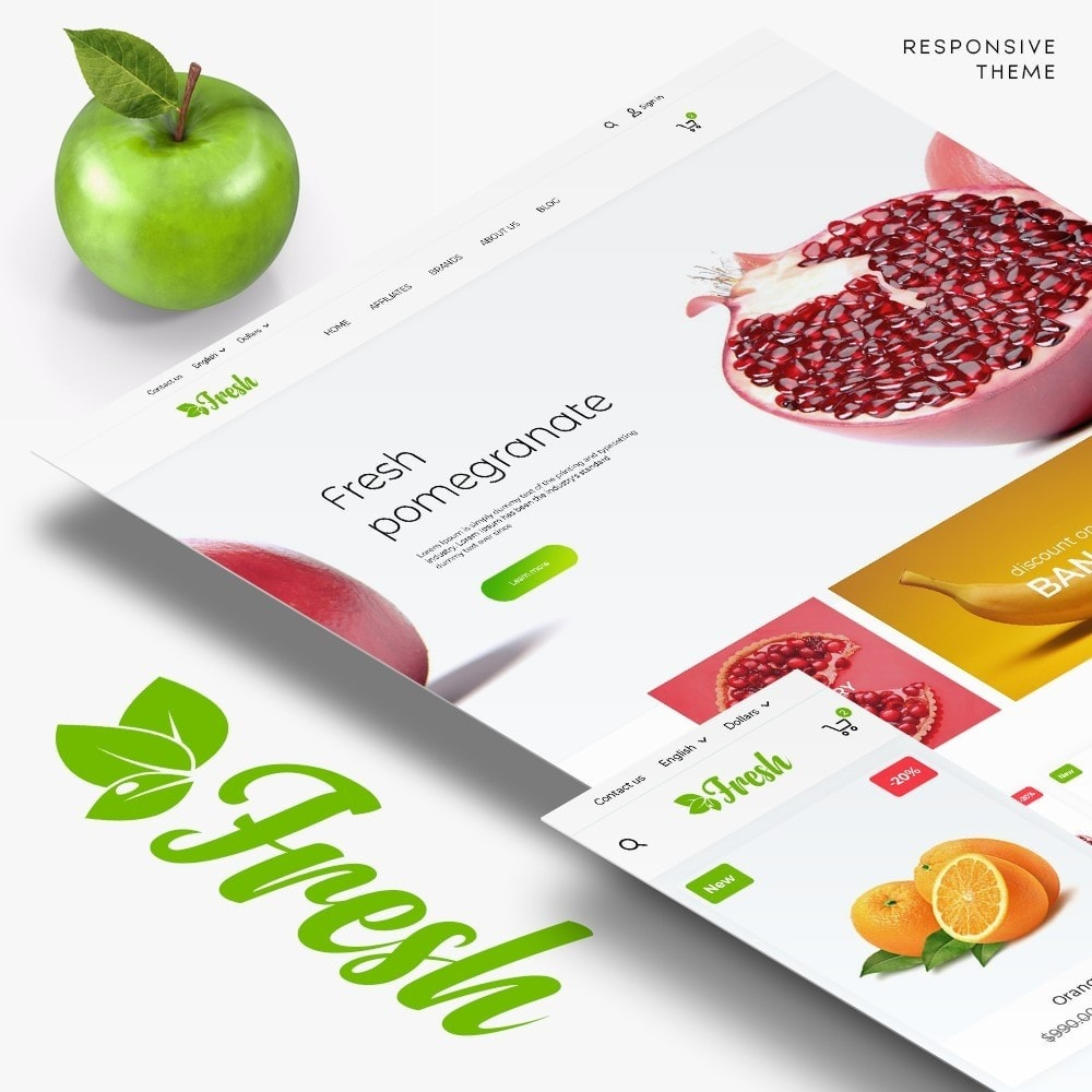 theme - Alimentos & Restaurantes - Fresh - 1