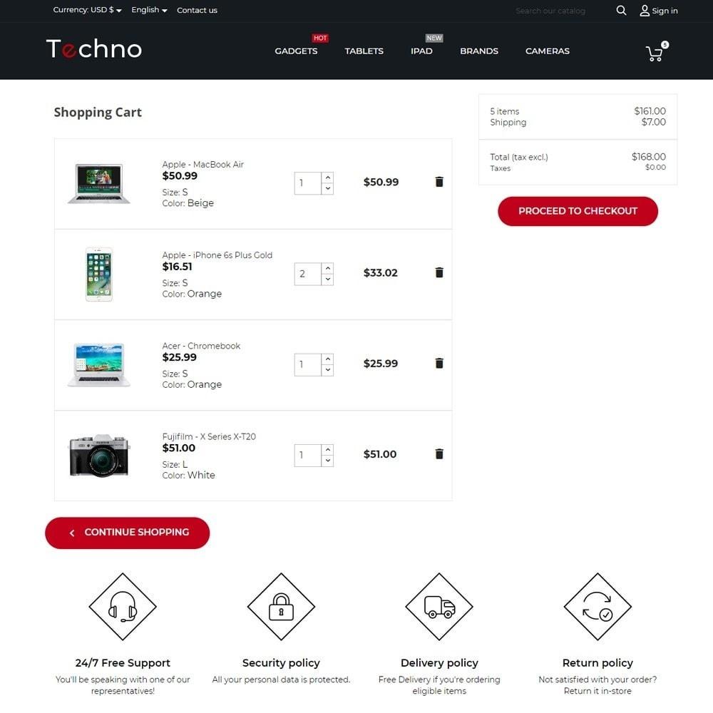 theme - Eletrônicos & High Tech - Techno - High-tech Shop - 8